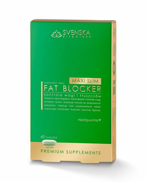 Maxi Slim Fat Blocker 60 tabletek Svenska Vitaminer